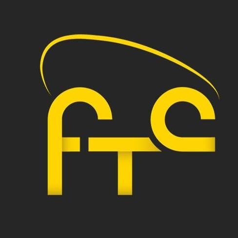 zwart met geel logo Fietstaxicentrale